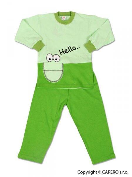 Detské pyžamo Agátka Zelená 128 (7-8 let)