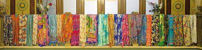 JULUNGGUL silk and wool by Julia Munilla: COLOR Y SEDA JULUNGGUL EN EL TEATRO PRINCIPAL DE Z...