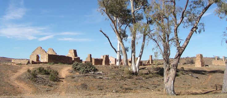 Kanyaka ruins South Australia