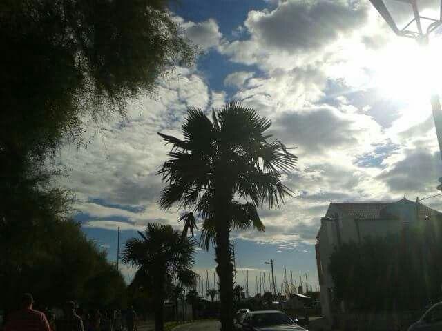 Vodice croatia sky