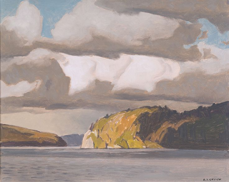 A.J. Casson - Storm Clouds