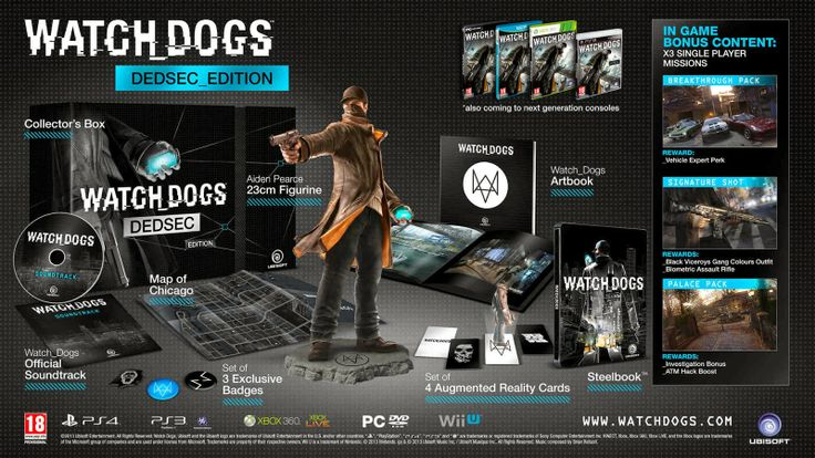 Watch_Dogs - Ediciones especiales