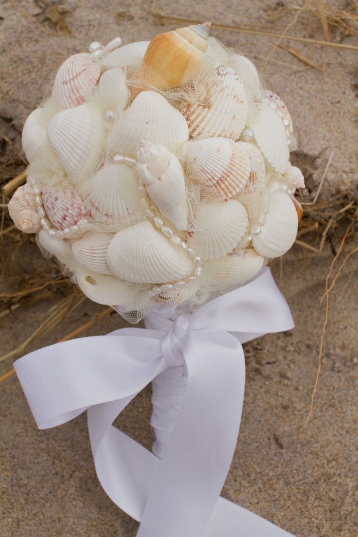 20 best non floral bouquets images on pinterest bouquets floral bethany beach seashell bouquetn floral izmirmasajfo Images