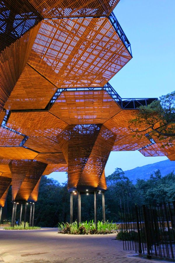 Orquideorama in Medellin Botanical Garden, Colombia -  - Colombia, Republic of Colombia, is a country situated in the northwest of South America - #travel #viajes #architecture #arquitectura