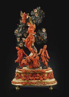 Sicilia, Trapani, fine del XVII-inizio del XVIII secolo GRUPPO RAFFIGURANTE IL…