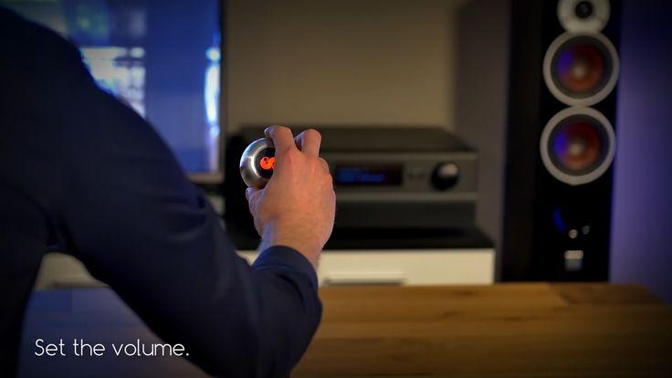 操作The simplest universal remote control ever - Meet SPIN remote