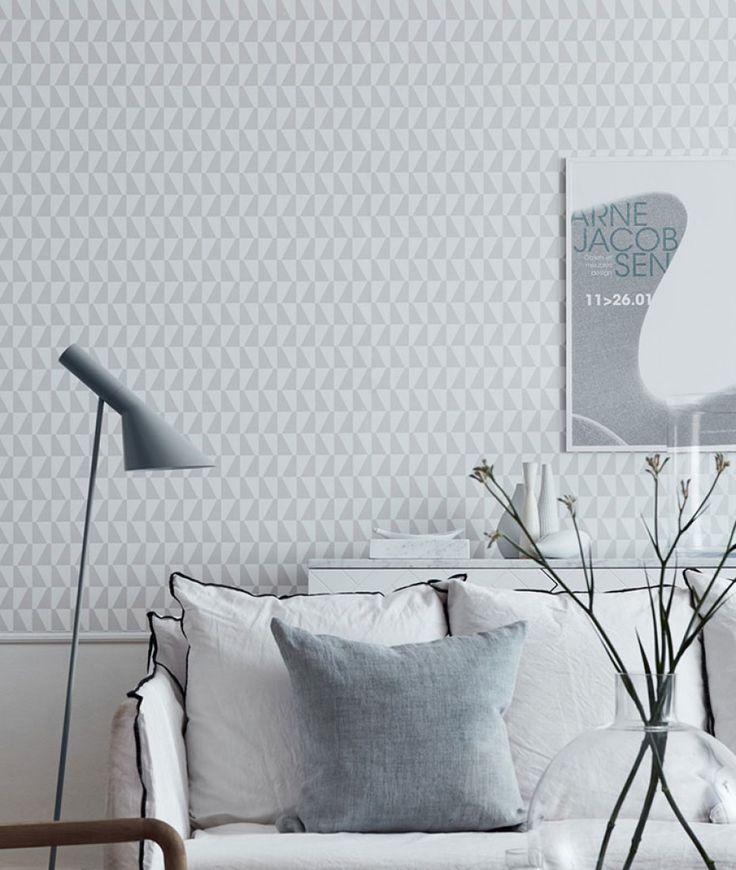 1000 ideas about papier peint gris on pinterest murs peint en gris escali - Papier peint marimekko ...