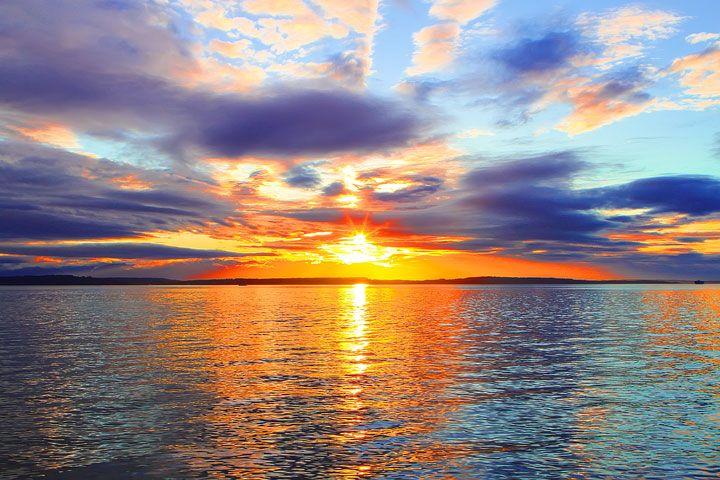 sunset on the seattle - photo #12