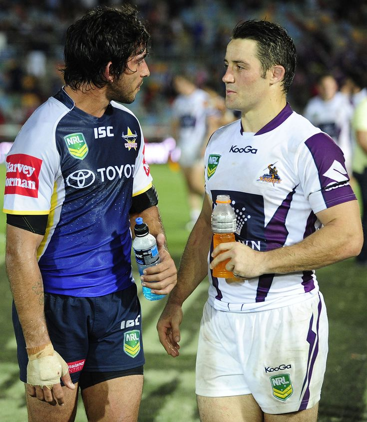 JT and Cooper Cronk ❤️ Cowboys vs. Storm