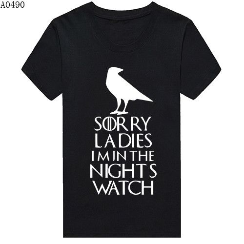 Game Of Thrones Sorry Ladies I'm In The Night's Watch Tshirt