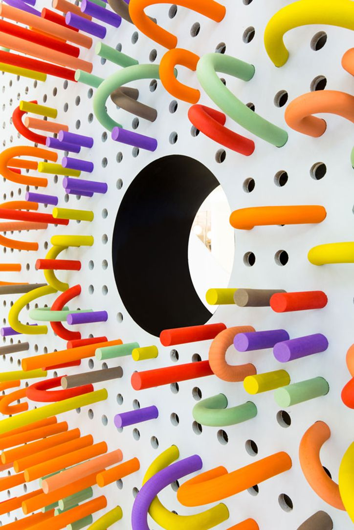 It's Nice That | Mathery Studio designs super cool interactive, foam-filled space for kids