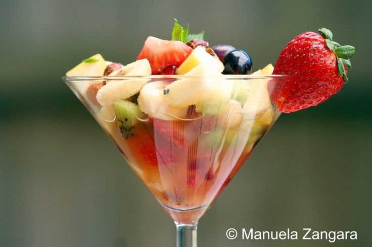 Fruit Salad ~ With an option to add Grand Marnier for an adult kick ;)