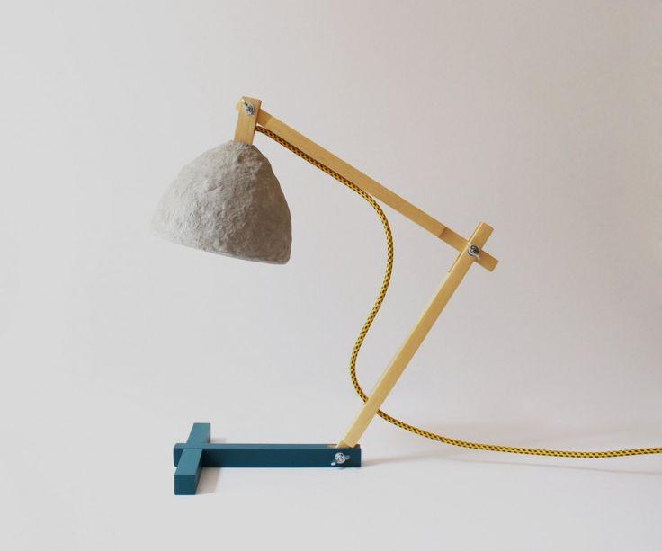 Metamorfozis Desk Lamp Blue, From CreaReDesign Via #Appurt Http://www.