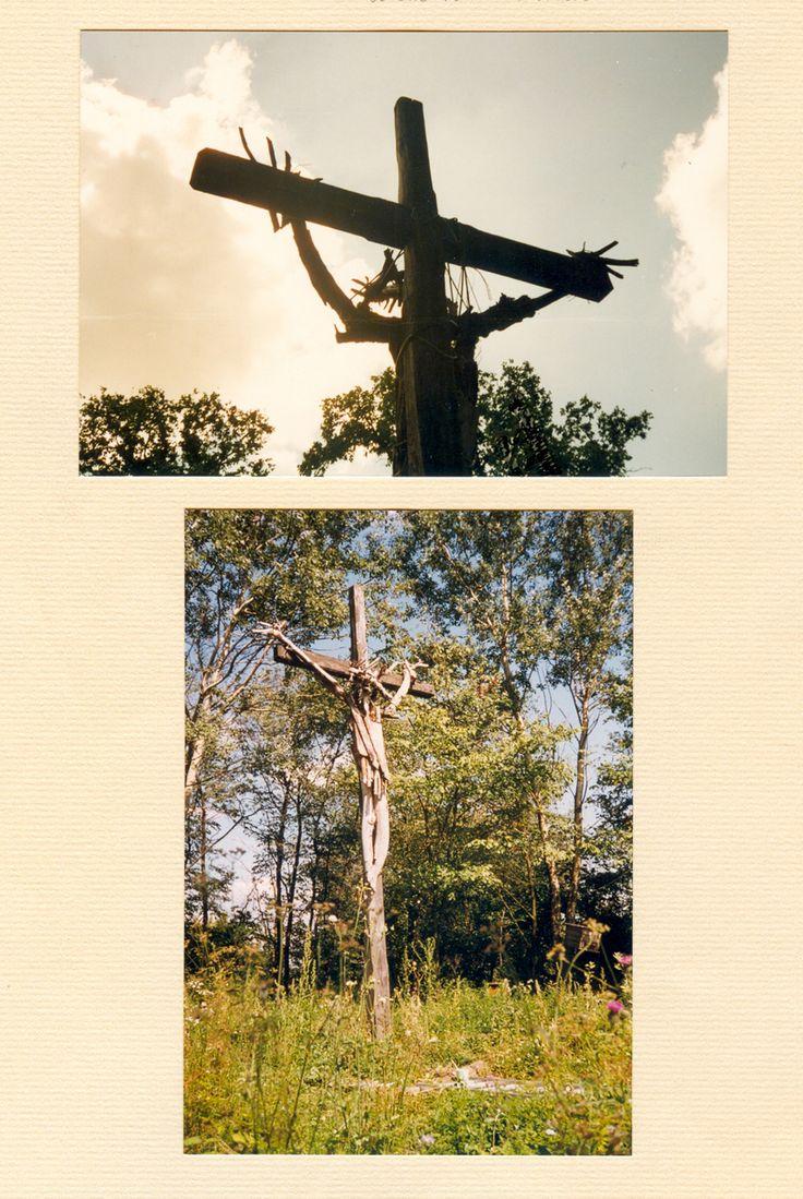 JANUSZ CZUMACZENKO, Chrystus, drewno i żywica, Glinno