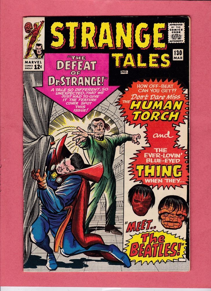 Strange Tales 130 Beatles Appearance; Early Ancient One; Baron Mordo Apperances