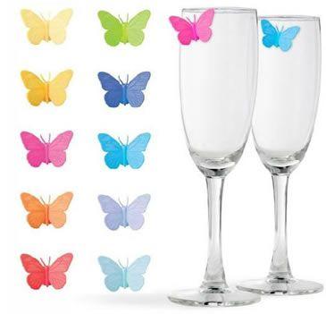 Segna bicchieri Farfalle