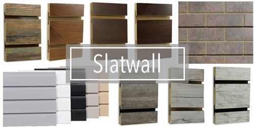 Slatwall Panels | Melamine Slatwall Sheets | Wood Slat Walls | Slat Display Board | High Pressure Laminate Slatwall | MDF Slatwall