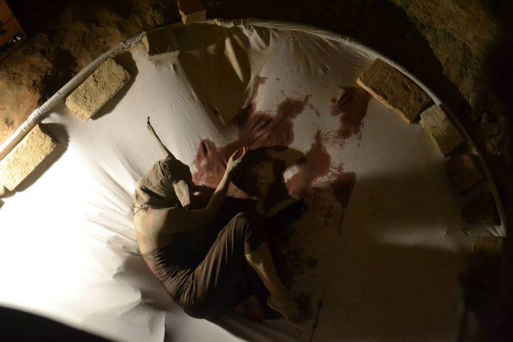 Lepre, celebrando il ritorno, performance di primavera. Roberta Bagni 2013