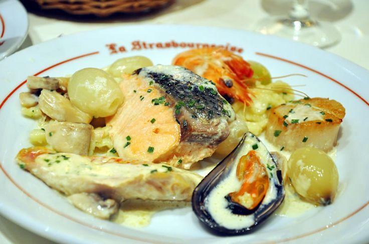 Marmite du pêcheur de la brasserie La Strasbourgeoise à Paris.  #foodie #lastrasbourgeoiseparis #brasserie #paris