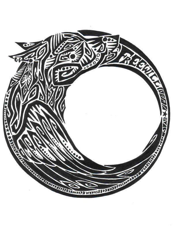 Wolfs moon | Tattoos | Pinterest
