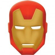 Avengers Mask Iron Man Plastic with Elastic Vacuum  Formed $5.95 A251354