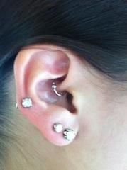 Hmm a piercing that may help my migraines?  Do tell...   Daith Piercing for Relief of Migraines