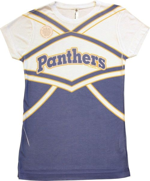 Dillon Panthers Cheer Uniform SUBLIMATED T-Shirt Tee