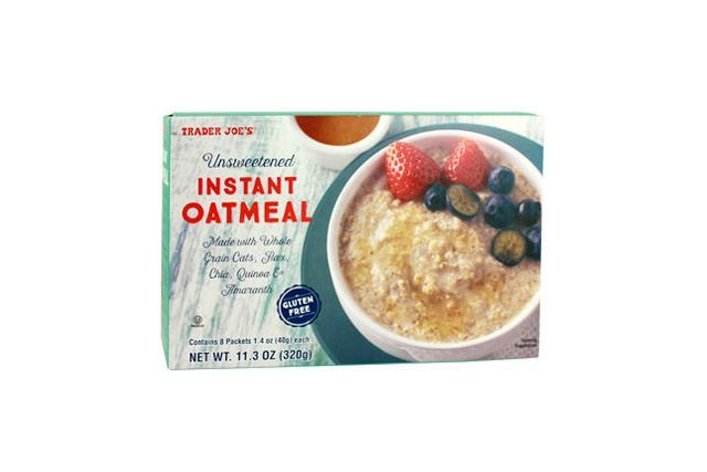 Unsweetened Instant OatmealBecause sometimes we want breakfast to start as a blank canvas. #refinery29 http://www.refinery29.com/best-trader-joes-food-products#slide-4