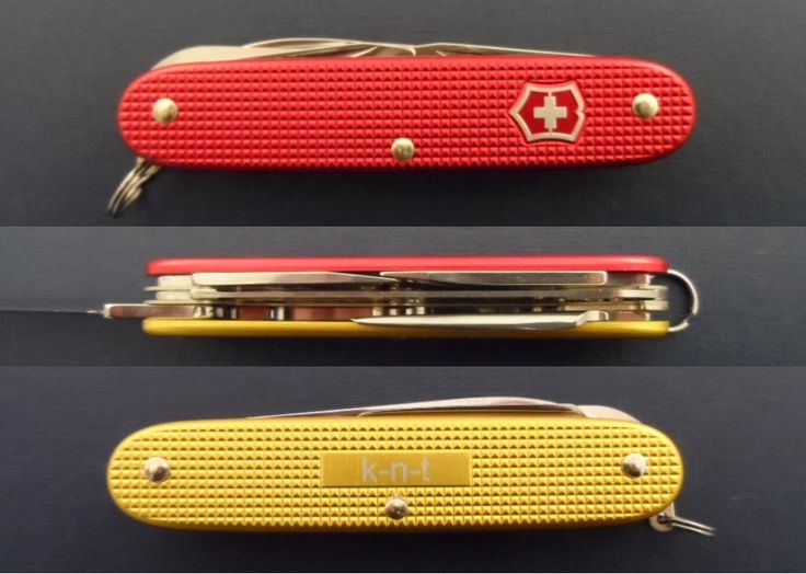 132 Besten Victorinox 93 Mm Alox Swiss Army Knives Bilder