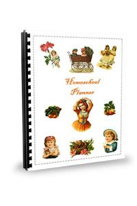 Do you need a planner? Look at these pretty homeschool pages.