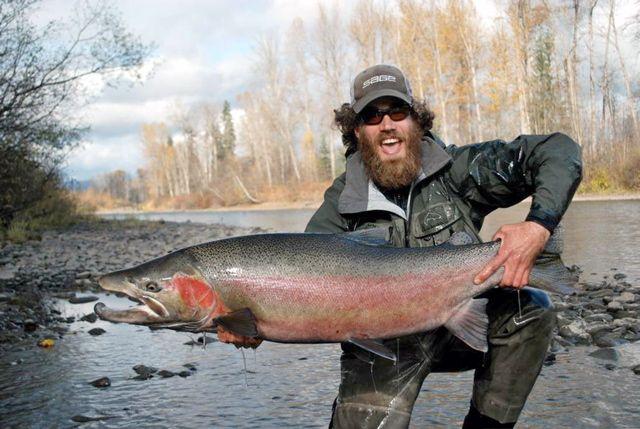 Steelhead fishing in Kitimat BC