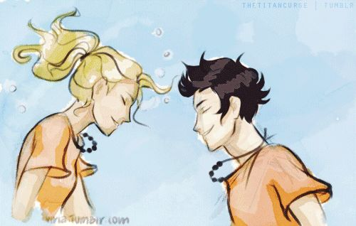 """""""And it was pretty much the best underwater kiss of all time."""" """" Art by viria 