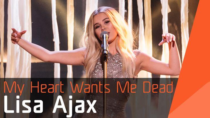 Lisa Ajax – My Heart Wants Me Dead   Melodifestivalen 2016