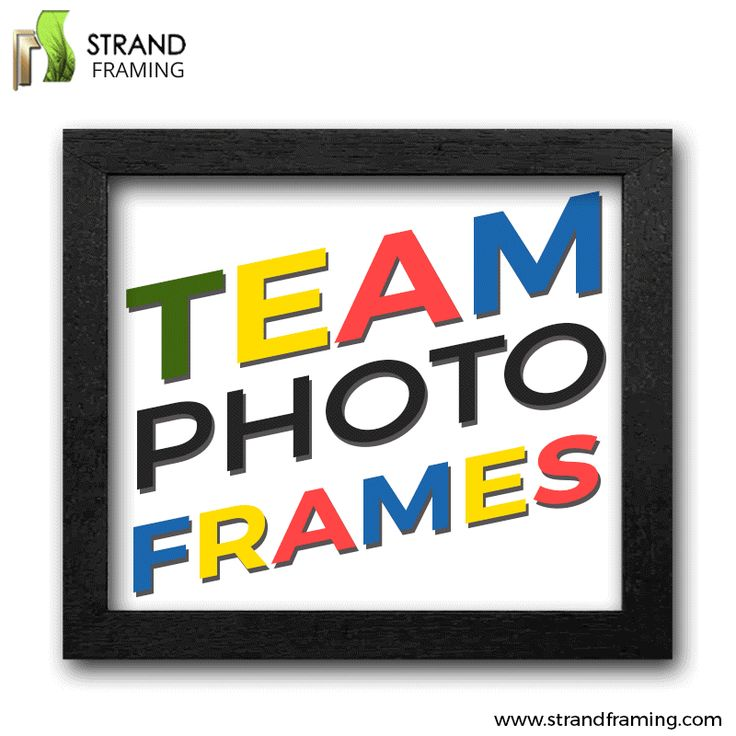 Strand Framing Ltd #TeamPhotoFrames are the perfect choice to celebrate your favorite choice with. These are ideal for team and group photos. #GIFImage #Pictureframe #Custompictureframing #Interiordesign#Homedecor #Vintage