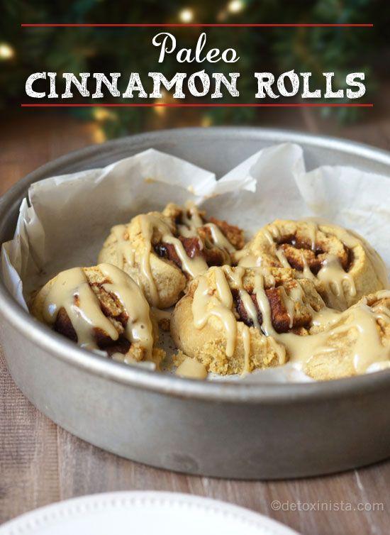Paleo Cinnamon Rolls (Nut-free) « Detoxinista