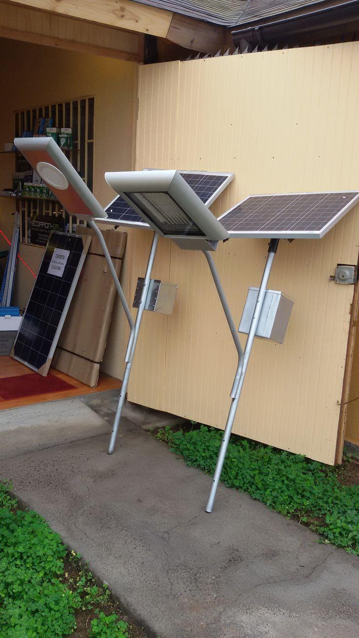 Scorpion-ER Ltda. Inicio la fabricación de ganchos solares autónomos, de 12 y 25 Watts, hemos querido denominarlos así ya que no cuentan con el poste en si, estos están preparados para colocarlos en un poste existente metálico, de madera … mostrar más