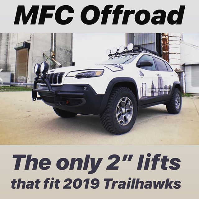 Jeep Cherokee Kl Lift Kit 2014 2018 Custom Engineered For