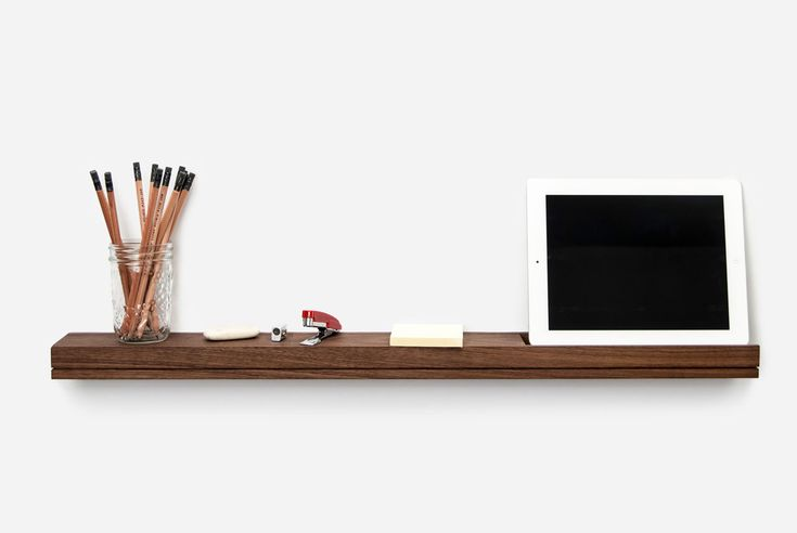 Singular is awall-mounted shelf or console that is just large enough to hold your essentials