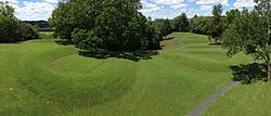 The Great Serpent Mound.jpg Ohio  Largest serpent effigy in the world