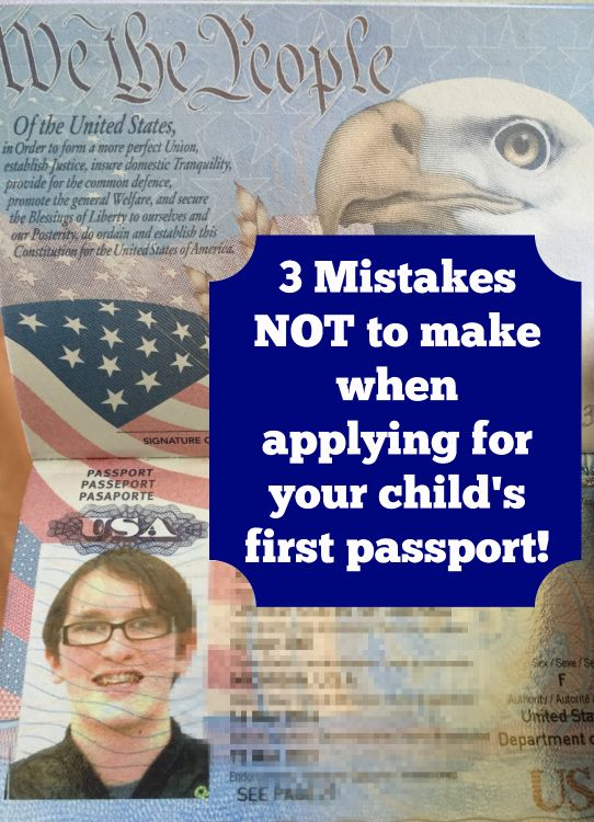 Avoid these mistakes when applying for a child Passport.