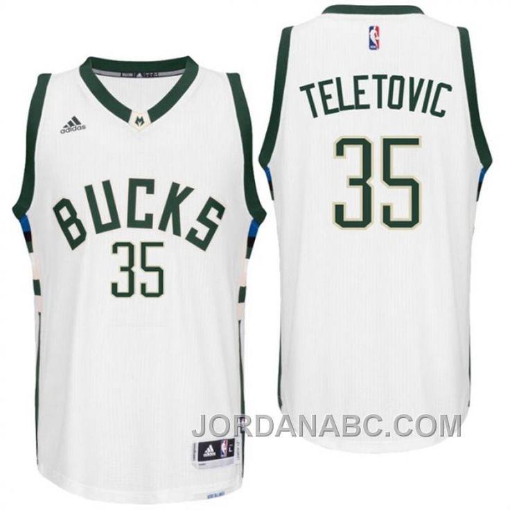 http://www.jordanabc.com/mirza-teletovic-milwaukee-bucks-new-swingman-white-home-jersey-for-sale.html MIRZA TELETOVIC MILWAUKEE BUCKS NEW SWINGMAN WHITE HOME JERSEY FOR SALE Only $69.00 , Free Shipping!