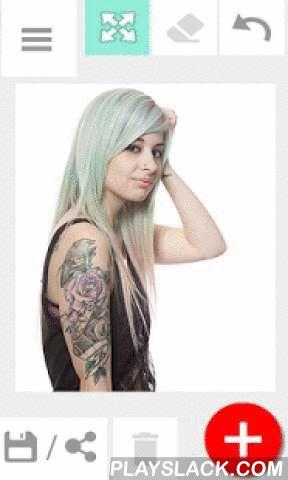 """Tattoo My Photo 2.0  Android App - playslack.com ,  """"Tattoo Mijn Foto 'app kun je proberen nieuwe tattoo designs, zonder pijn! Tatoeëren zelf op uw eigen foto's. Met onze app voelt u zich als in een virtuele tattoo salon of fotocabine machine. Kies gewoon een foto van het album of neem een met behulp van camera, kiest de tattoo ontwerp dat past bij uw stijl, roteren, formaat wijzigen, opslaan en delen van uw effect!Onze editing tool bevat veel artistieke tattoo ideeën voor zowel meisjes als…"""