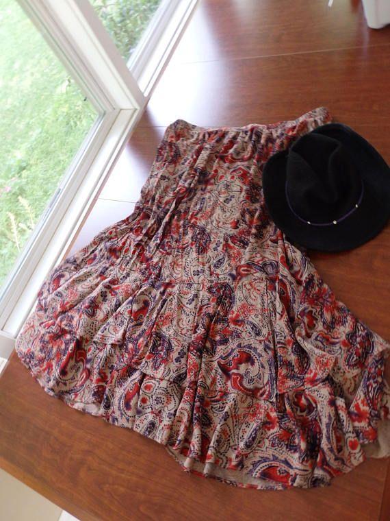 Orange Wrap Skirts Tribal Maxi Skirts GYPSY skirt orange