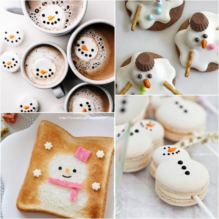 A Gallery Of Super Cute And Creative Snowman Food Art