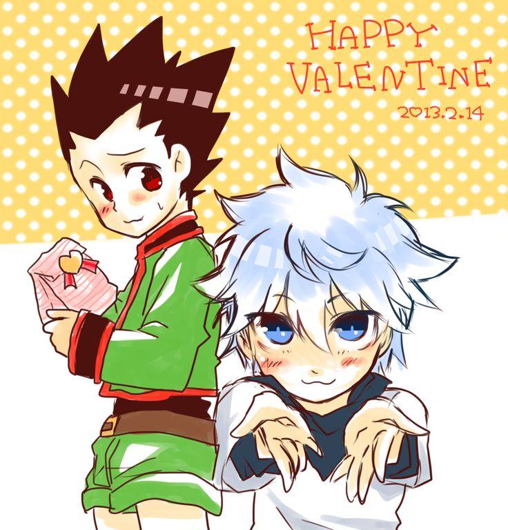 valentine Hunter x hunter, Killua, Hisoka