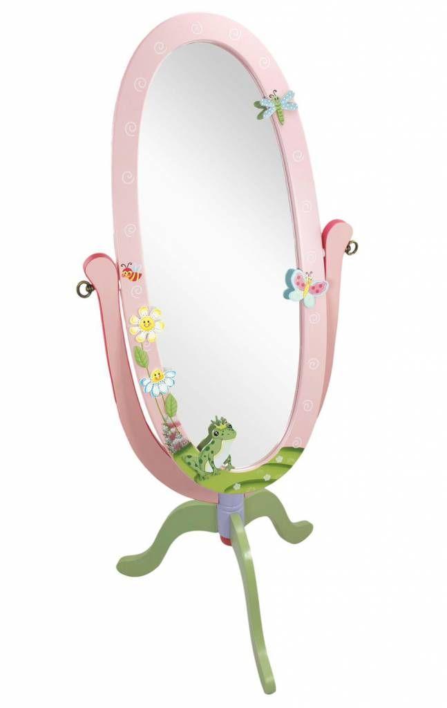 Deze prachtige spiegel uit de lijn Magic Garden van Fantasy Fields is een droom voor elk meisje. Bekijk je mooiste kleding en controleer je kapsel. Lees meer in