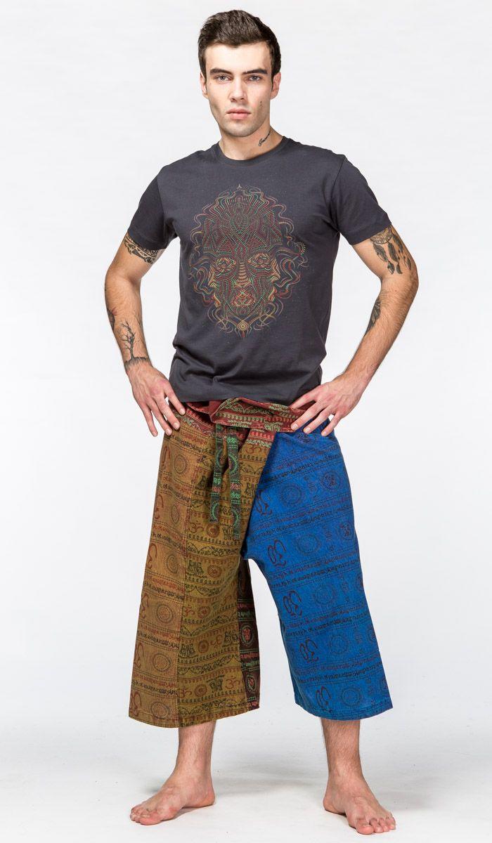 https://indiastyle.ru/catalog/men-yoga-clothing Мужские шорты для йоги в тайском стиле Thai yoga pants 2280 рублей
