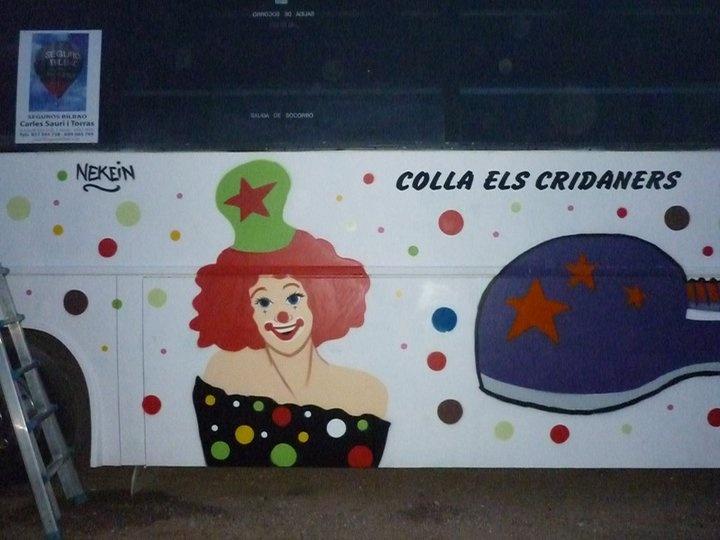 Carroza Carnaval Payasos 4