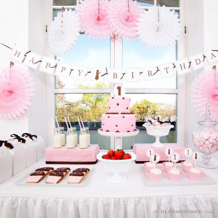 Erster Geburtstag Sweet Table.
