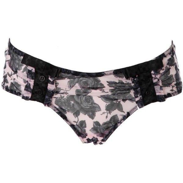 Chantal Thomass Panty Sweet Poker Rose - BHs und Slips ($84) ❤ liked on Polyvore featuring intimates, panties, lingerie, underwear, undies, panty slip, slip lingerie, underwear panties, lingerie slip and panties lingerie